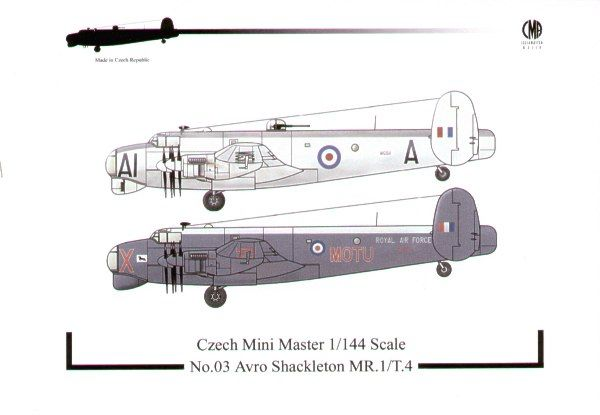 Czech Mini Master 1/144 Avro Shackleton MR. 1/T. 4 # 03