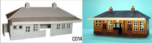 Dapol 1/76 Booking Hall # C14
