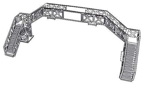 Dapol 1/76 Footbridge # C4