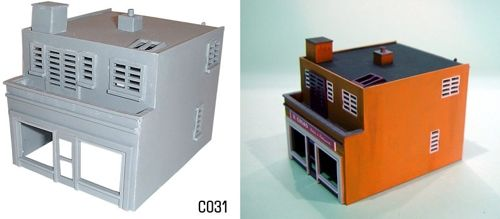 Dapol 1/76 Modern Shop and Flat # C31