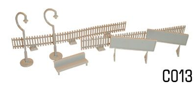 Dapol 1/76 Platforms Fittings # C13