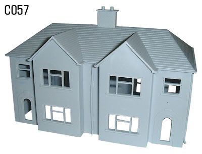 Dapol 1/76 Semi Detached Houses # C57