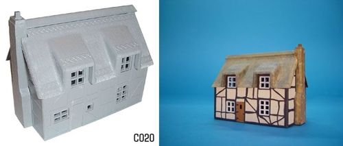 Dapol 1/76 Thatched Cottage # C20
