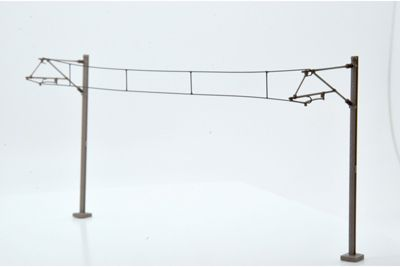 Dapol OO Gauge Catenary Wires 203mm Pack of 10 # OOWIRE2