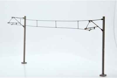 Dapol OO Gauge Catenary Wires 337mm Pack of 5 # OOWIRE1
