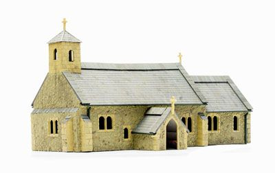 Dapol - OO Gauge Village Church # C029