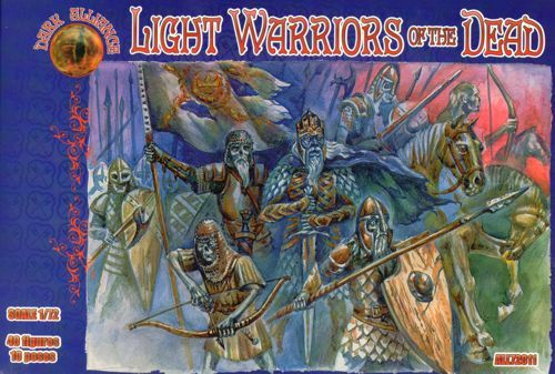 Dark Alliance 1/72 Light Warriors of the Dead # 72011