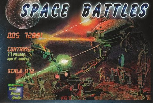 Dark Dream Studio 1/72 Space Battles # 72001
