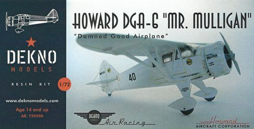 Dekno 1/72 Howard DGA-6 Mr Mulligan # AR720900