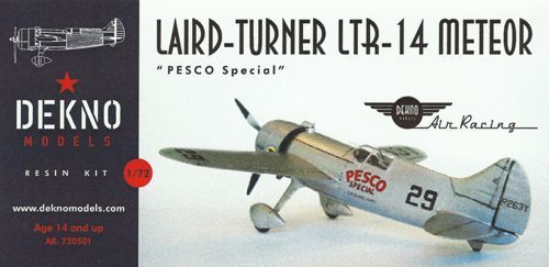 Dekno 1/72 Laid-Turner LTR-14 Meteor 'Pesco Special' # AR720501