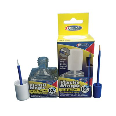 Deluxe Materials - Plastic Magic 10 Sec Cement (AD83) # 46098