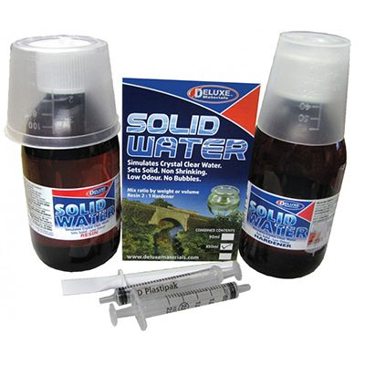 Deluxe Materials Solid Water Kit 350ml (BD36) # 46022