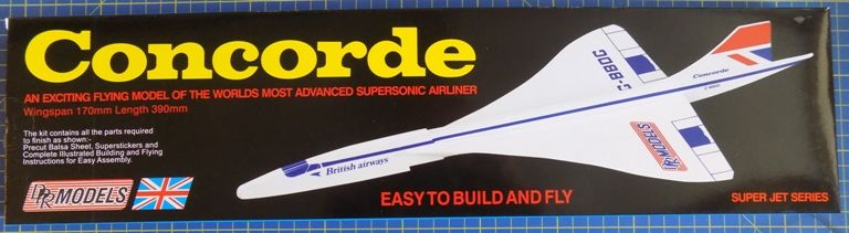 DPR Models - Concorde High Performance Glider Model