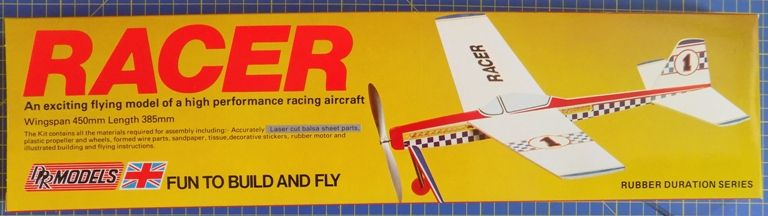 DPR Models - Racer Rubber Powered Flying Model