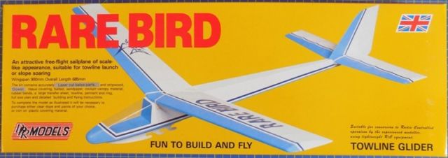 DPR Models - Rare Bird Performance Sailplane