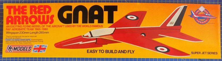 DPR Models - The Red Arrows GNAT High Performance Catapult Model