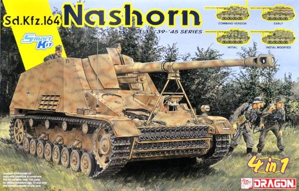 Dragon 1/35 Sd.Kfz.164 Nashorn (4 in 1) # 6459