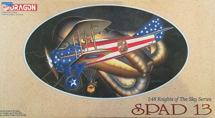 Dragon 1/48 SPAD 13 Knights of the Sky # 5902