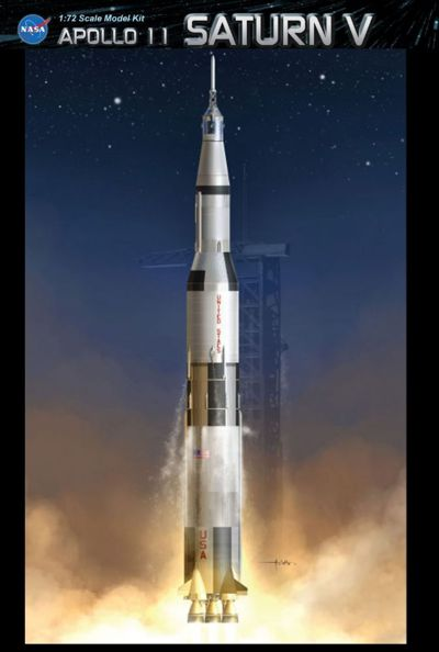 Dragon 1/72 Apollo II Saturn V # 11017