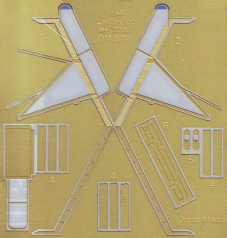 Dream Model 1/48 Ladder for Eurofighter EF-2000A Typhoon # 2039