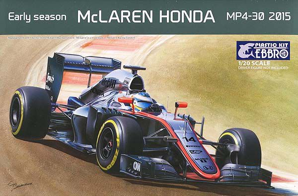 Ebbro 1/20 Early Season McLaren Honda MP4-30 2015 # 013