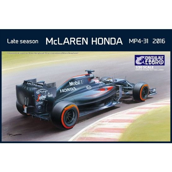 Ebbro 1/20 Late Season McLaren Honda MP4-31 2016 # 020
