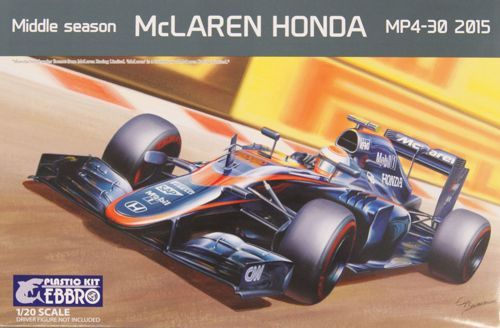 Ebbro 1/20 Middle Season McLaren Honda MP4-30 2015 # 014