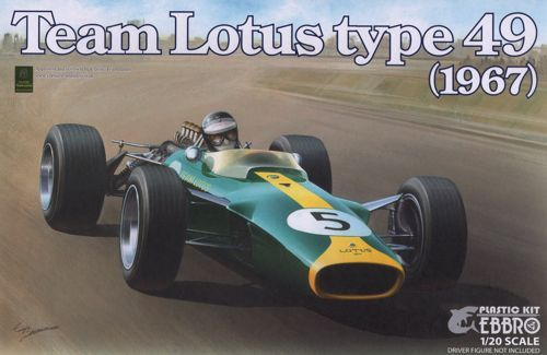 Ebbro 1/20 Team Lotus Type 49 (1967) # 004