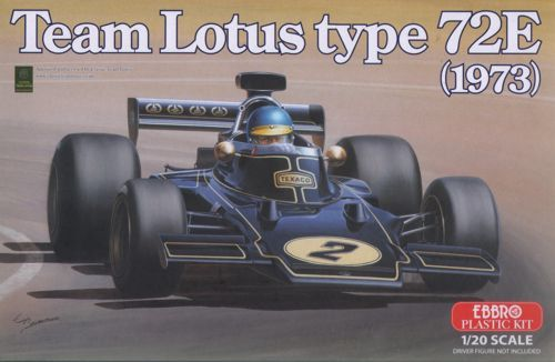 Ebbro 1/20 Team Lotus type 72E (1973) # 003