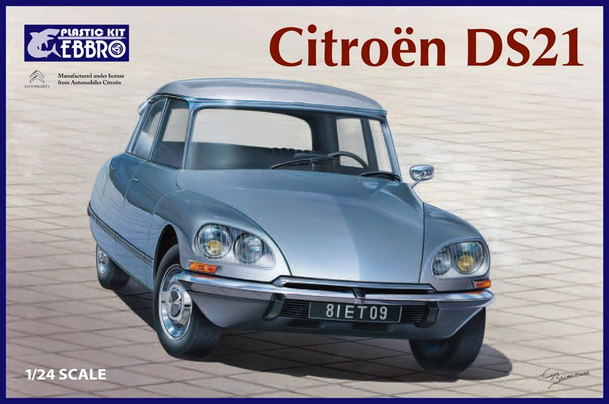 Ebbro 1/24 Citroen DS21 # 25009