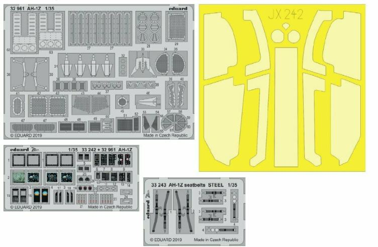 Eduard 1/35 Bell AH-1Z Shark Mouth Big-Ed Set # 33111