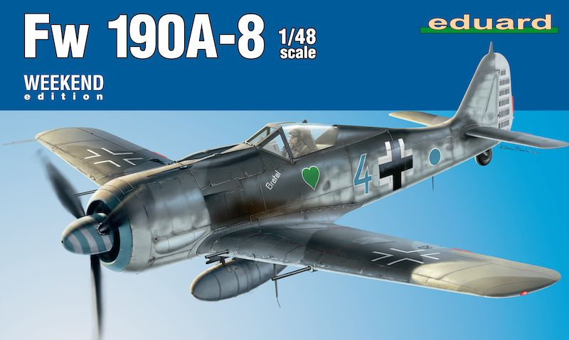 Eduard 1/48 Focke-Wulf Fw 190A-8 Weekend edition # 84122