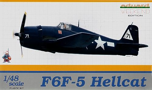 Eduard 1/48 Grumman F6F-5 Hellcat Weekend Edition # K8434