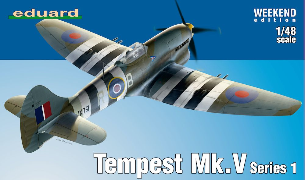 Eduard 1/48 Hawker Tempest Mk.V Series 1 Weekend Edition # K84171