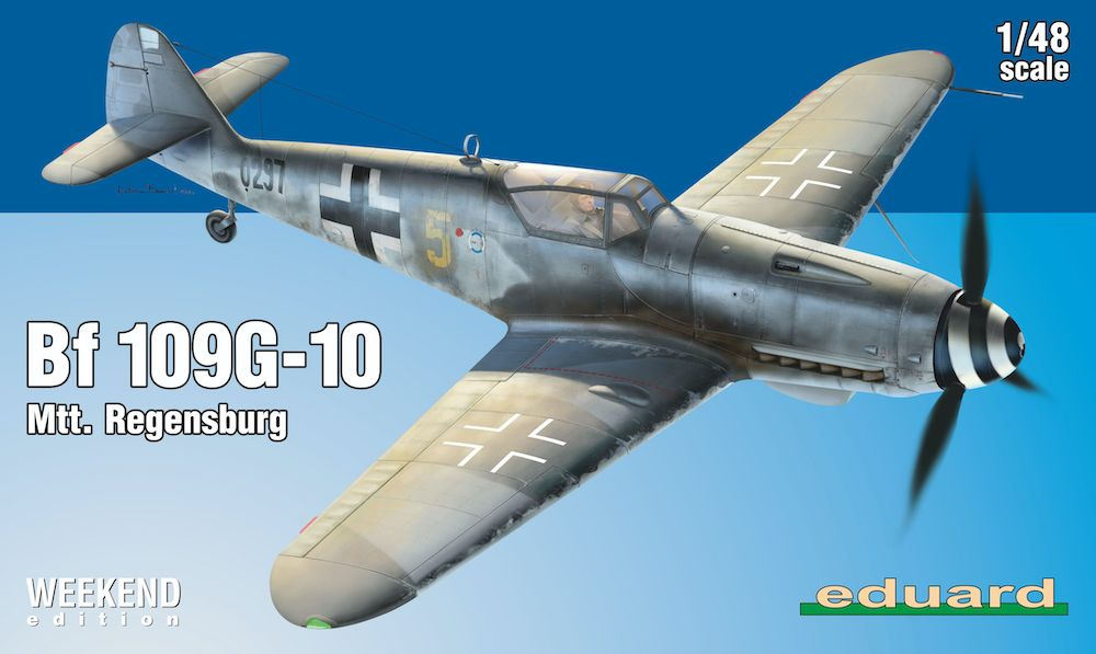 Eduard 1/48 Messerschmitt Bf-109G-10 Mtt. Regensburg Weekend Edition # K84168
