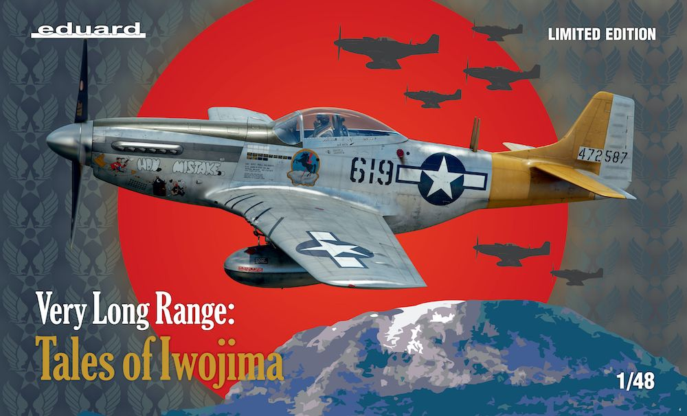 Eduard 1/48 Very Long Range: Tales of Iwojima Limited Edition # K11142