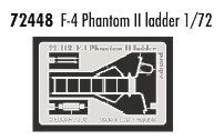 Eduard 1/72 F-4 Phantom II ladder # 72448