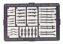 Eduard 1/72 Luftwaffe WWII seatbelts for fighters # 72309