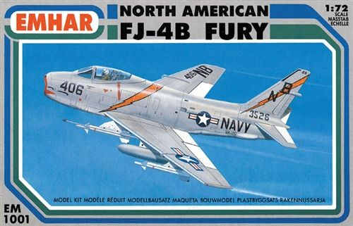 Emhar 1/72 North-American FJ-4B Fury # 1001