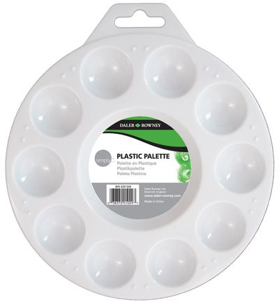 Expo - 10 Well Plastic Mixing Palette # 43525