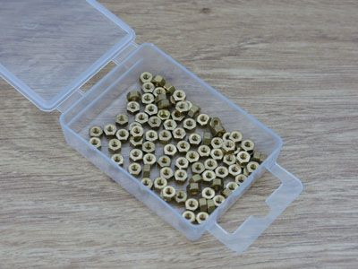 Expo Tools - 14BA Brass Nuts # 31054