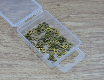 Expo Tools - 8BA Brass Washers # 31025