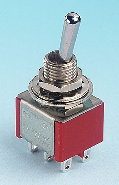 Expo Tools - DPDT Centre Off Toggle Switch # 28013