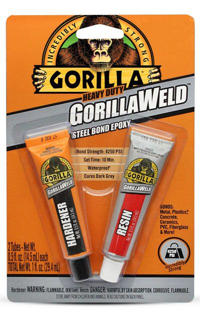 Expo Tools - GorillaWeld Titanium Bond Epoxy 29.5ml # 44360