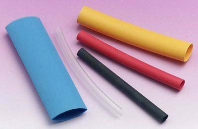 Expo Tools - Heat Shrink Sleeving 9.5mm Yellow # 25343