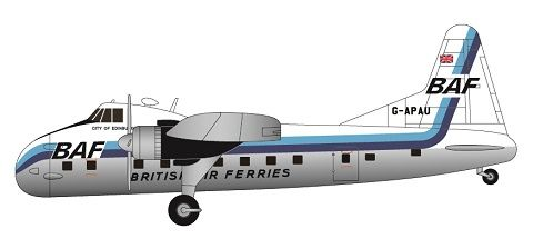 F-rsin 1/144 Bristol Superfreighter Mk.32 - BAF (Blue) # FRP4106