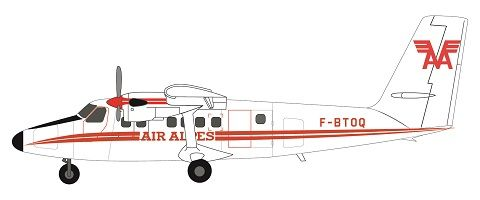 F-rsin 1/144 DHC-6 Twin-Otter - Air Alpes # 44121