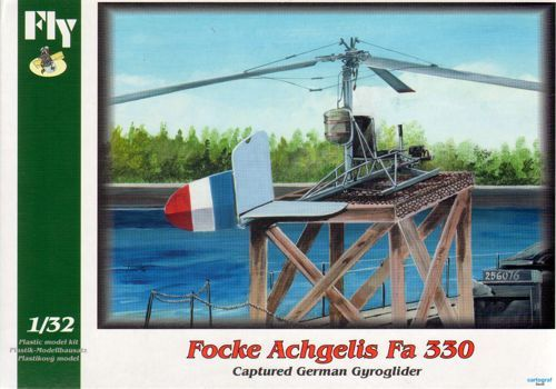 Fly 1/32 Focke-Achgelis Fa-330 - Captured German Gyroglider # 32009