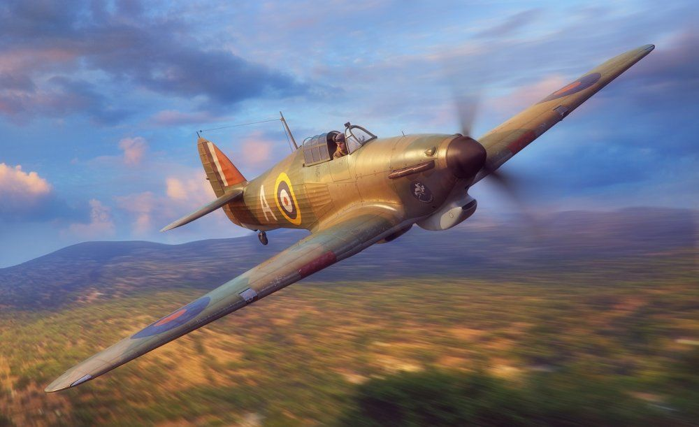 Fly 1/32 Hawker Hurricane Mk.I Tropical Version RAF # 32017