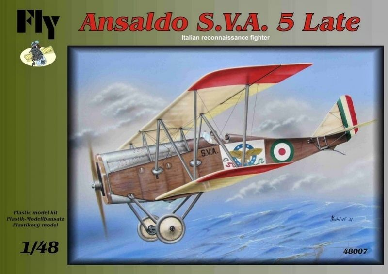 Fly 1/48 Ansaldo S.V.A.5 Late # 48007